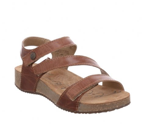 Josef Seibel Tonga 25 Camel Womens Sandals